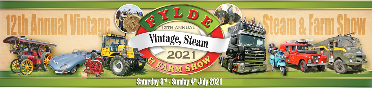 The 12th Annual Fylde Vintage, Steam and Farm Show